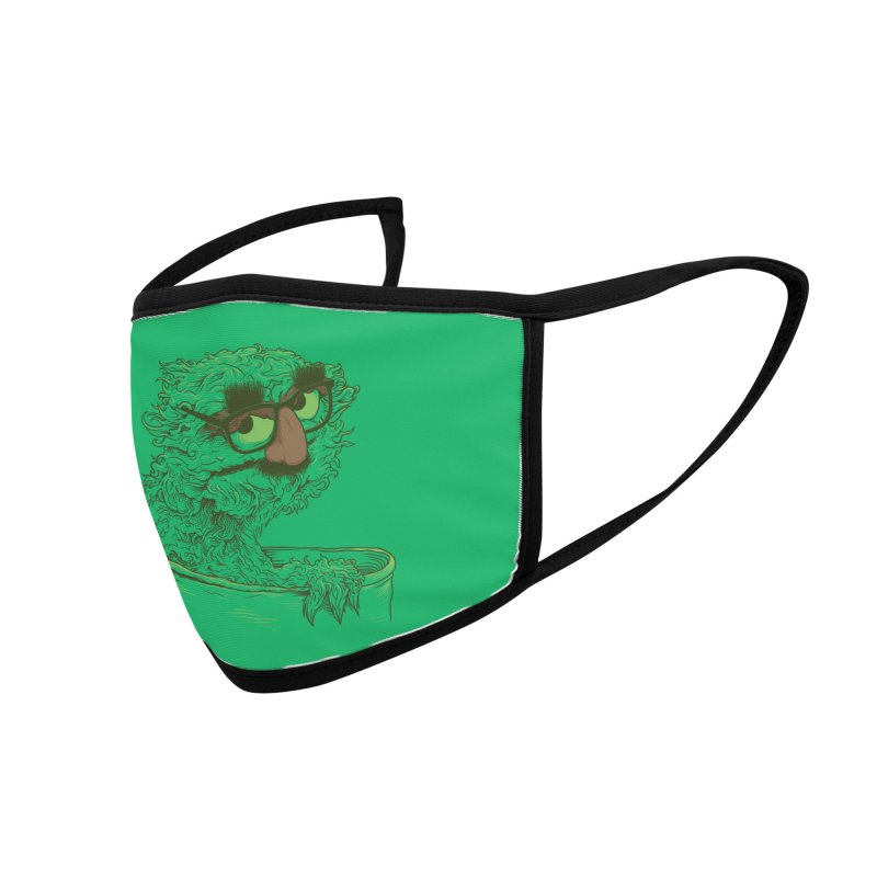 Grouch in Disguise Accessories Face Mask by joshbillings's Artist Shop