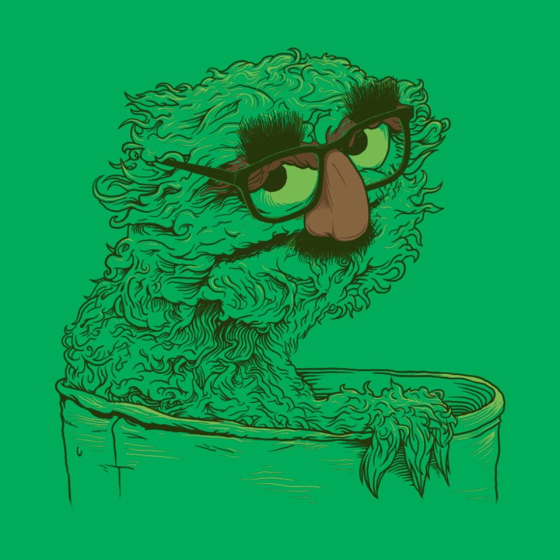 Grouch in Disguise Accessories Notebook by joshbillings's Artist Shop