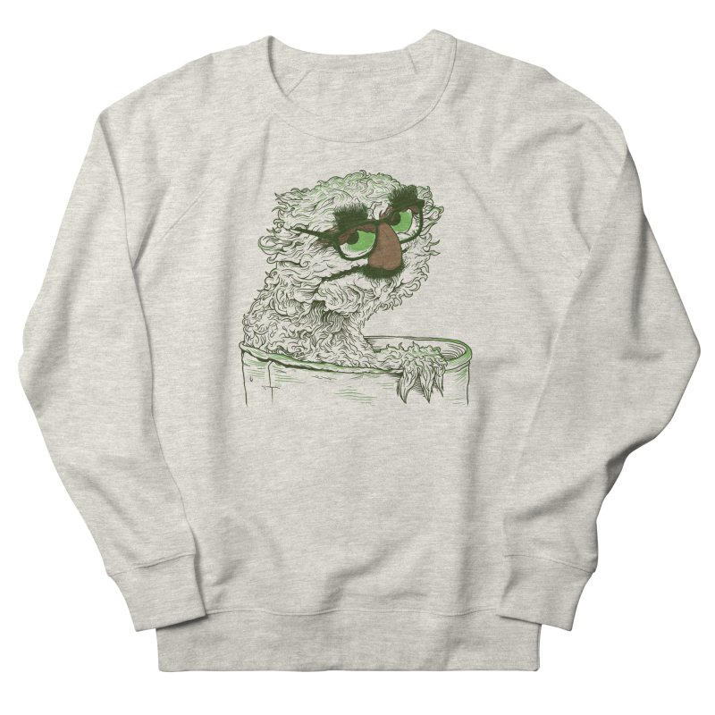 Grouch in Disguise Women's French Terry Sweatshirt by joshbillings's Artist Shop