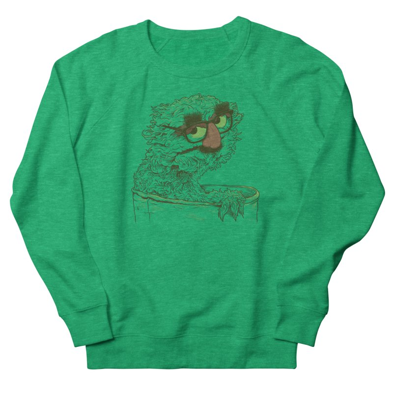 Grouch in Disguise Men's French Terry Sweatshirt by joshbillings's Artist Shop