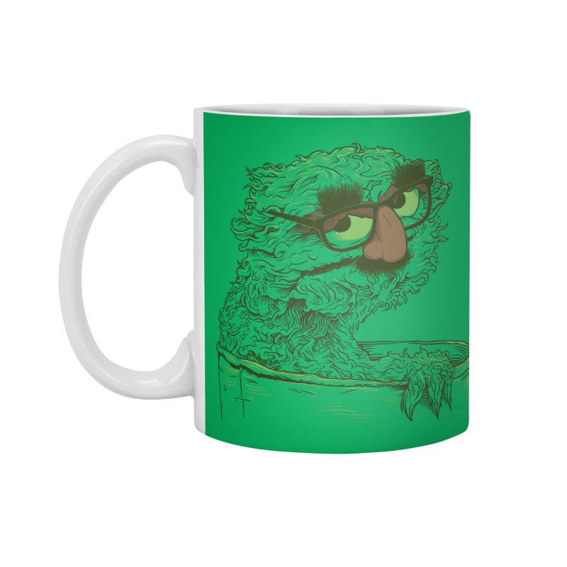 Grouch in Disguise Accessories Mug by joshbillings's Artist Shop