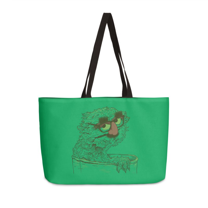 Grouch in Disguise Accessories Bag by joshbillings's Artist Shop