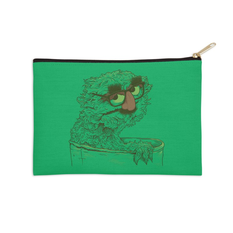 Grouch in Disguise Accessories Zip Pouch by joshbillings's Artist Shop