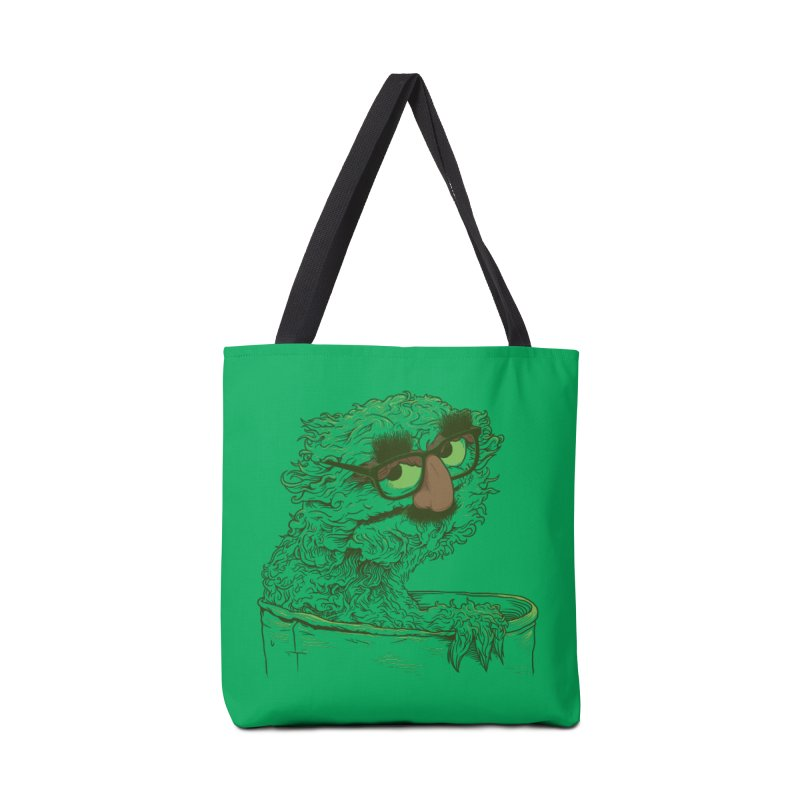 Grouch in Disguise Accessories Tote Bag Bag by joshbillings's Artist Shop