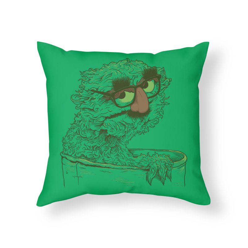 Grouch in Disguise Home Throw Pillow by joshbillings's Artist Shop