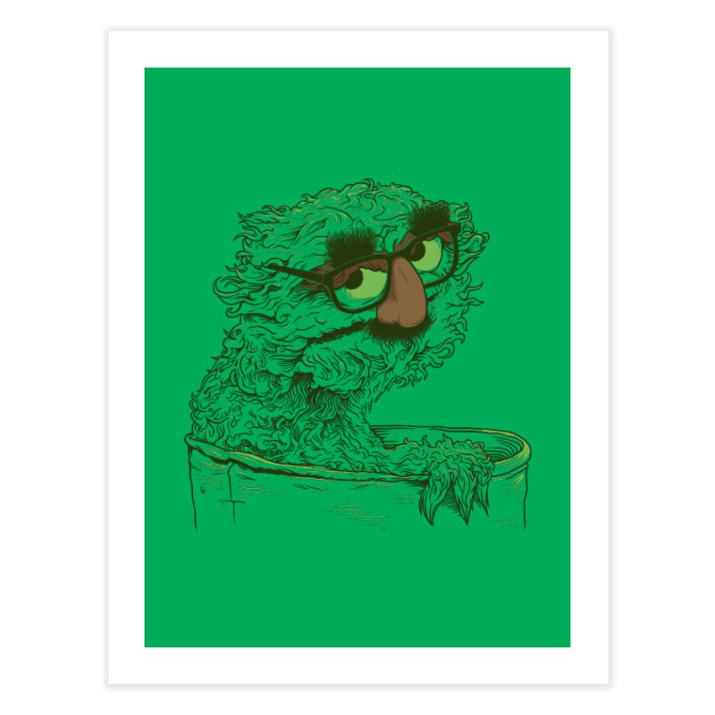 Grouch in Disguise Home Fine Art Print by joshbillings's Artist Shop