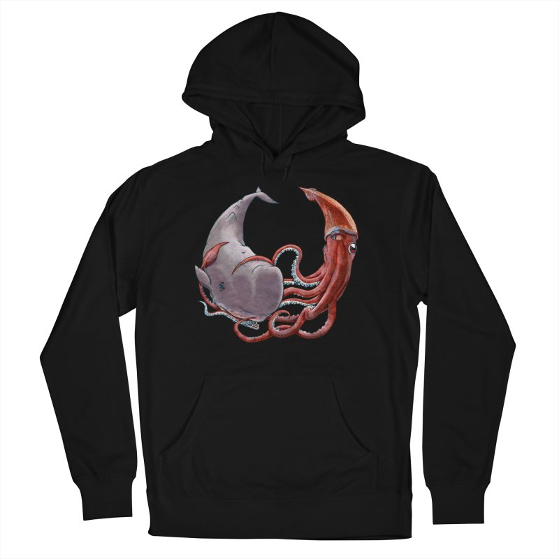 Battle of the Deep Men's French Terry Pullover Hoody by joshbillings's Artist Shop