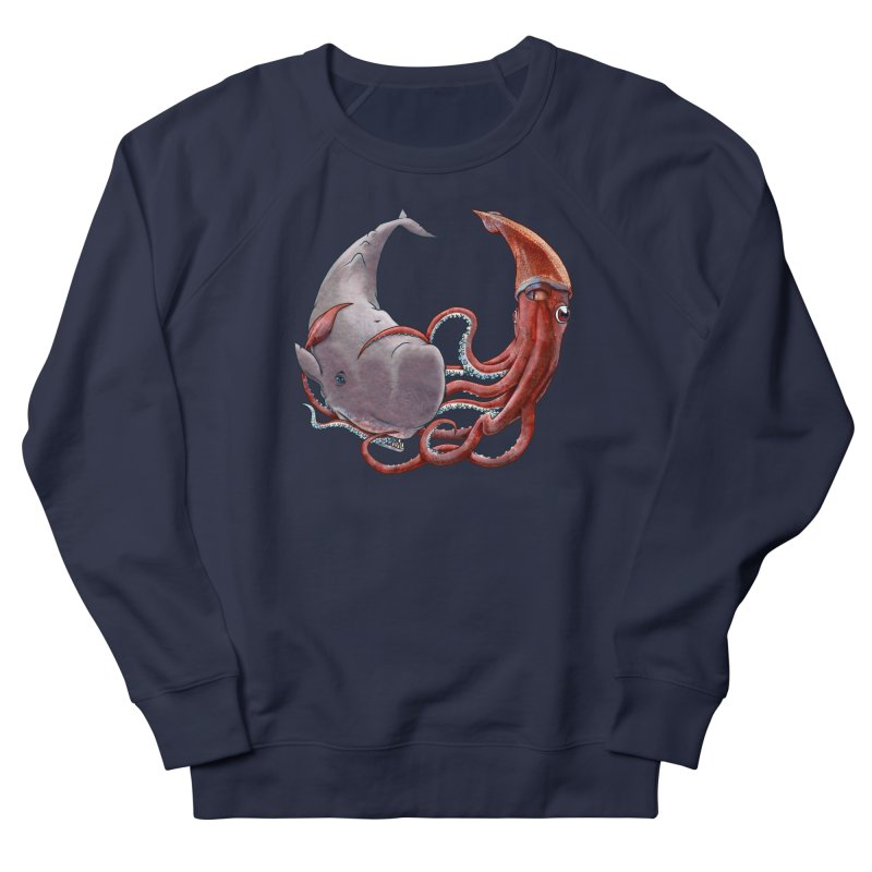Battle of the Deep Women's French Terry Sweatshirt by joshbillings's Artist Shop