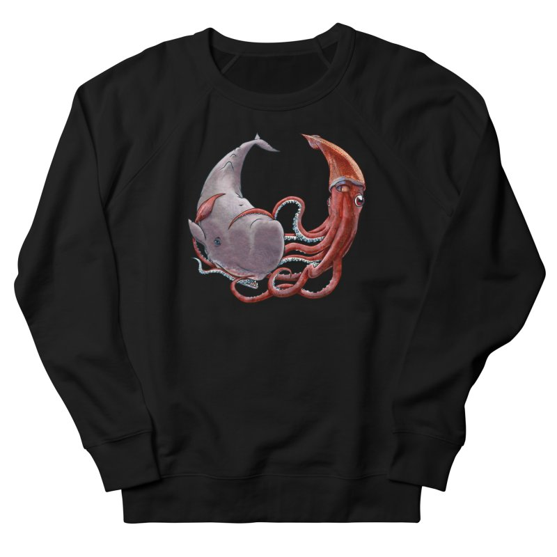 Battle of the Deep Men's French Terry Sweatshirt by joshbillings's Artist Shop