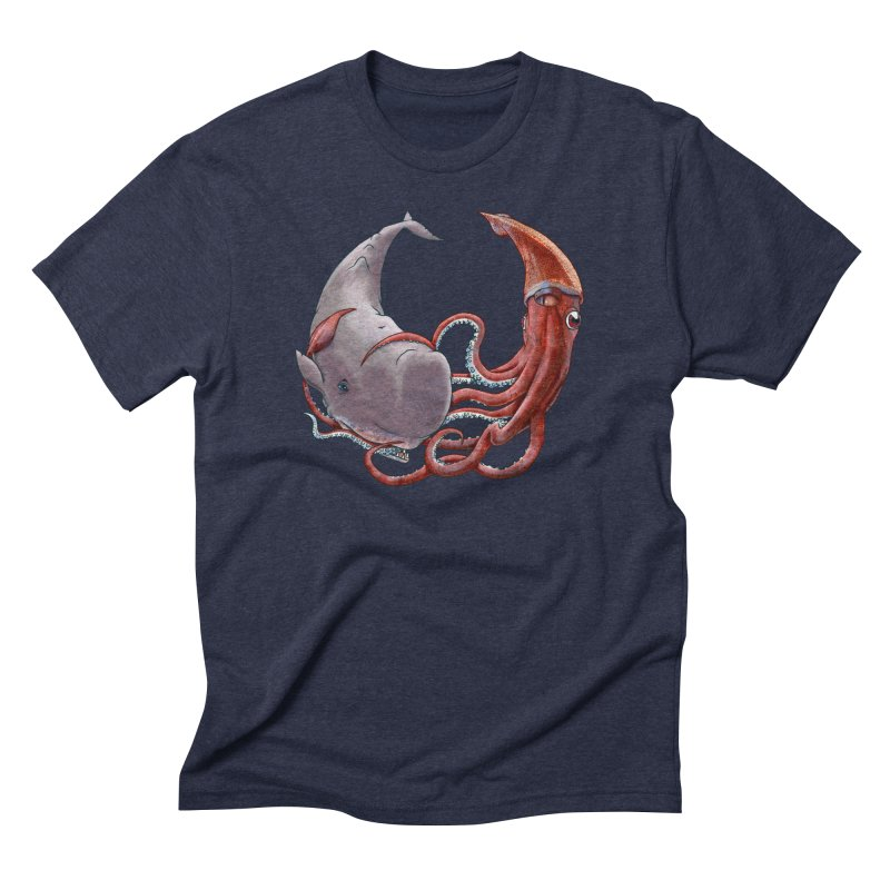 Battle of the Deep Men's Triblend T-Shirt by joshbillings's Artist Shop