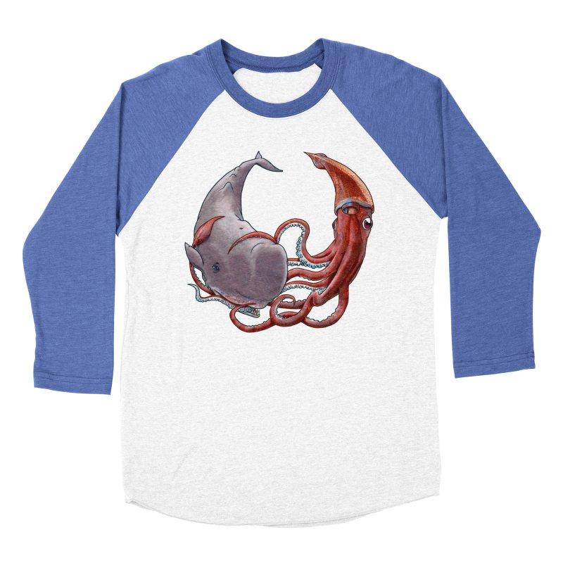 Battle of the Deep Women's Baseball Triblend Longsleeve T-Shirt by joshbillings's Artist Shop