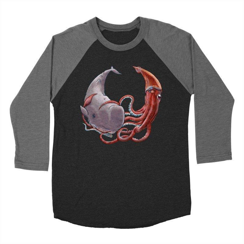 Battle of the Deep Men's Baseball Triblend T-Shirt by joshbillings's Artist Shop