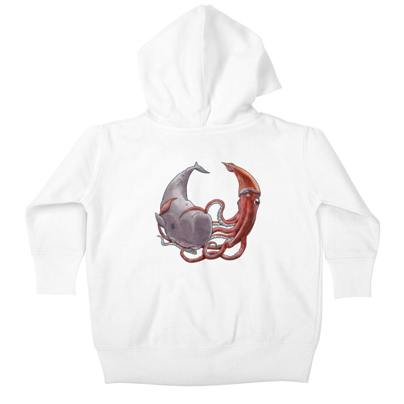 Battle of the Deep Kids Baby Zip-Up Hoody by joshbillings's Artist Shop