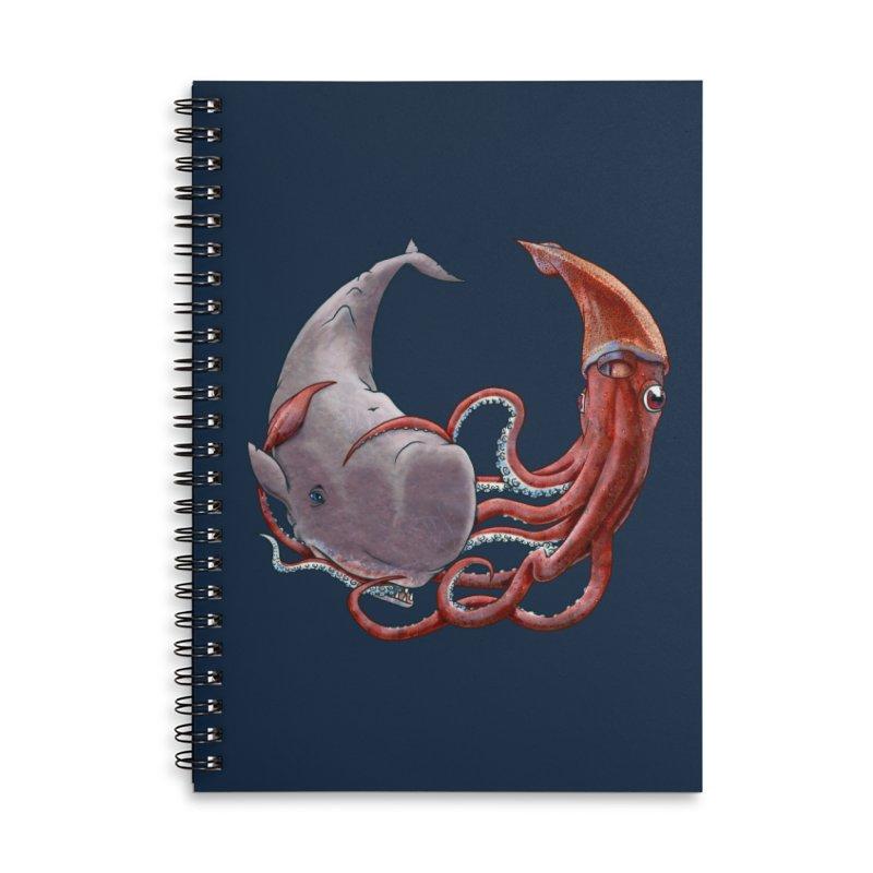 Battle of the Deep Accessories Notebook by joshbillings's Artist Shop