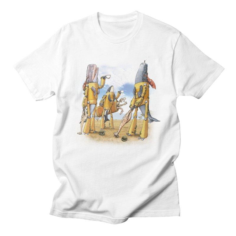 Tea Time Men's T-Shirt by joshbillings's Artist Shop