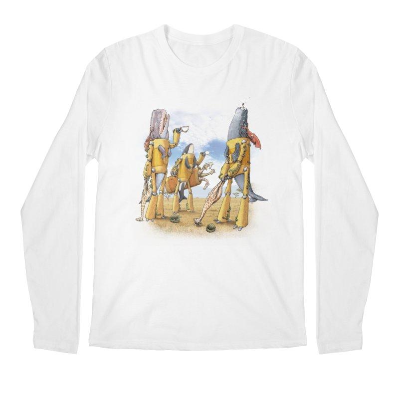 Tea Time Men's Longsleeve T-Shirt by joshbillings's Artist Shop