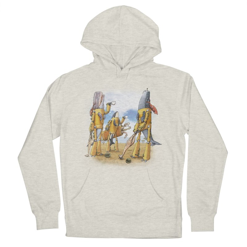 Tea Time Men's French Terry Pullover Hoody by joshbillings's Artist Shop