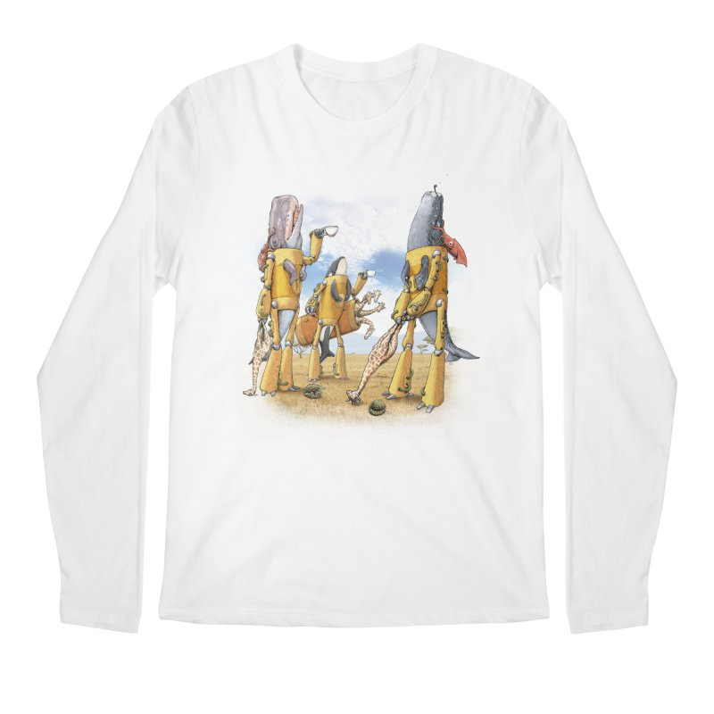 Tea Time Men's Longsleeve T-Shirt by joshbillings's Artist Shop