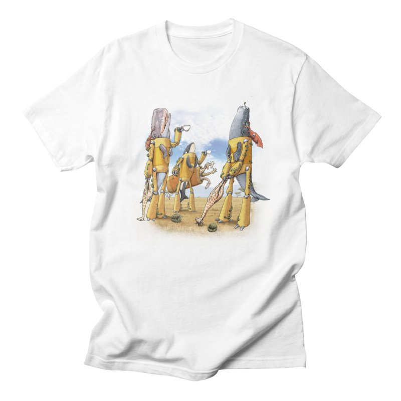 Tea Time Men's T-shirt by joshbillings's Artist Shop