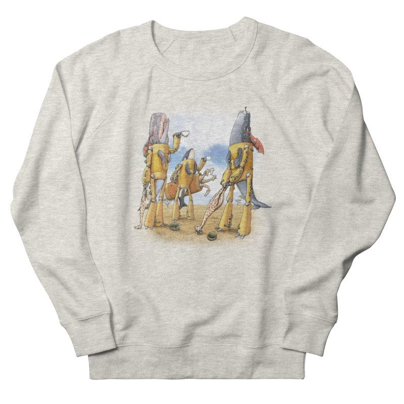 Tea Time Men's French Terry Sweatshirt by joshbillings's Artist Shop