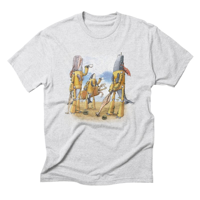 Tea Time Men's Triblend T-Shirt by joshbillings's Artist Shop