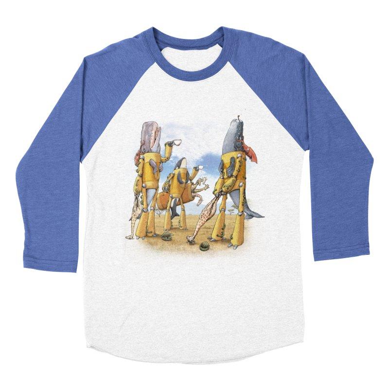 Tea Time Women's Baseball Triblend Longsleeve T-Shirt by joshbillings's Artist Shop