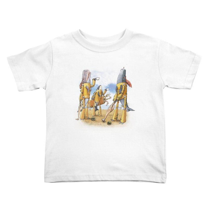 Tea Time Kids Toddler T-Shirt by joshbillings's Artist Shop