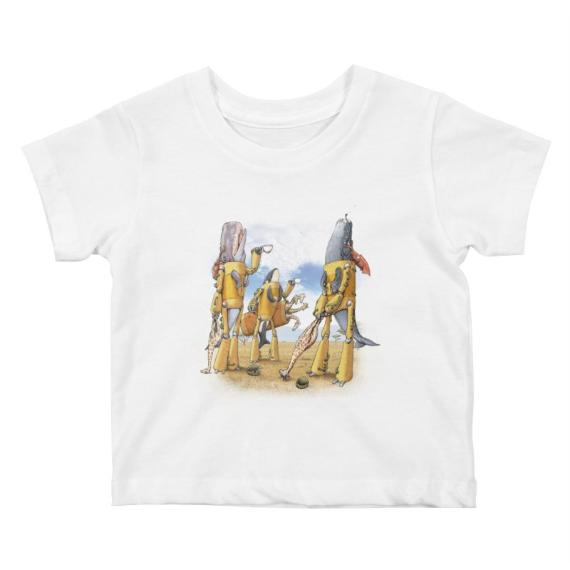 Tea Time Kids Baby T-Shirt by joshbillings's Artist Shop