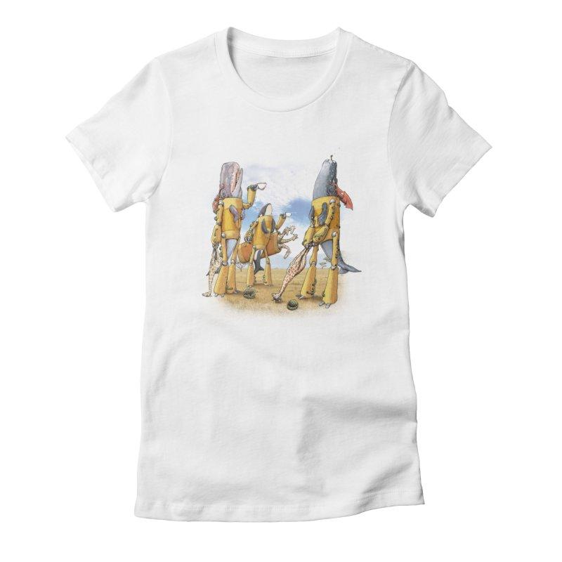 Tea Time Women's T-Shirt by joshbillings's Artist Shop
