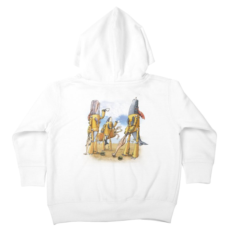 Tea Time Kids Toddler Zip-Up Hoody by joshbillings's Artist Shop