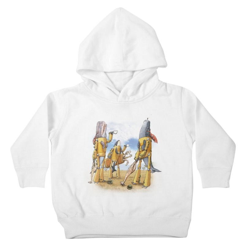 Tea Time Kids Toddler Pullover Hoody by joshbillings's Artist Shop
