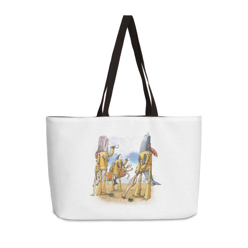 Tea Time Accessories Weekender Bag Bag by joshbillings's Artist Shop