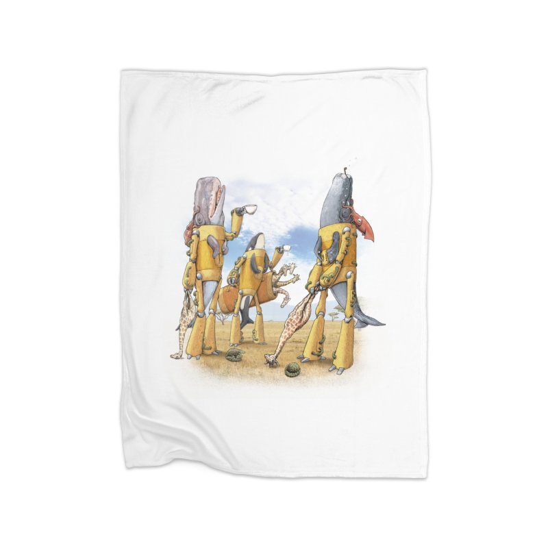 Tea Time Home Blanket by joshbillings's Artist Shop