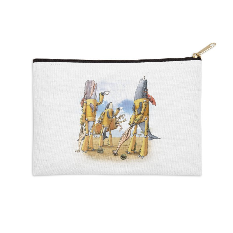 Tea Time Accessories Zip Pouch by joshbillings's Artist Shop
