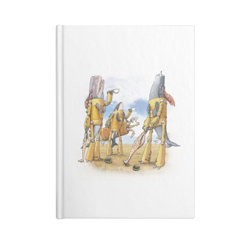 Tea Time Accessories Notebook by joshbillings's Artist Shop