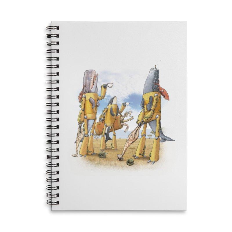 Tea Time Accessories Notebook by joshbillings's Artist Shop