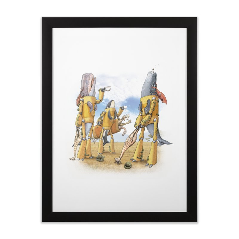 Tea Time Home Framed Fine Art Print by joshbillings's Artist Shop