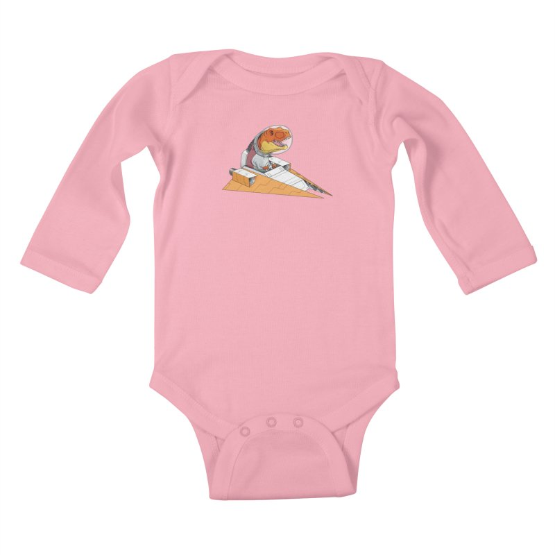 The Triumphant Return Kids Baby Longsleeve Bodysuit by joshbillings's Artist Shop