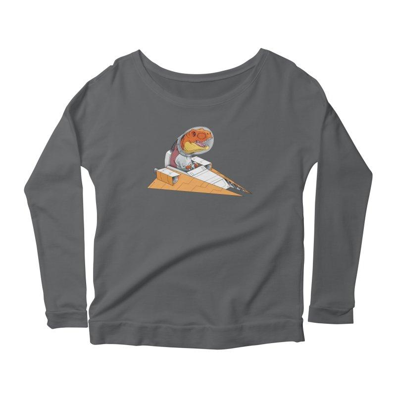 The Triumphant Return Women's Scoop Neck Longsleeve T-Shirt by joshbillings's Artist Shop