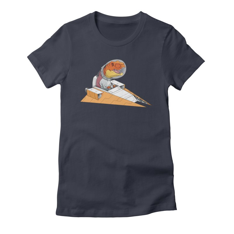 The Triumphant Return Women's Fitted T-Shirt by joshbillings's Artist Shop