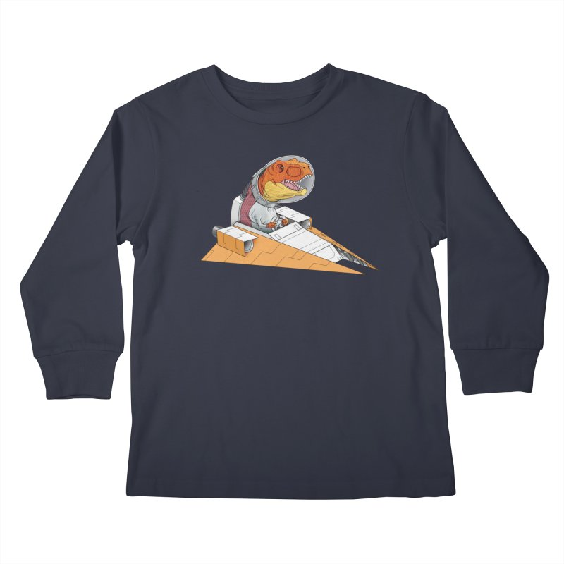 The Triumphant Return Kids Longsleeve T-Shirt by joshbillings's Artist Shop
