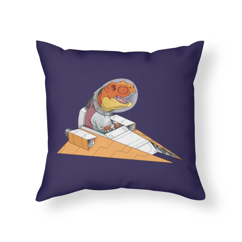 The Triumphant Return Home Throw Pillow by joshbillings's Artist Shop
