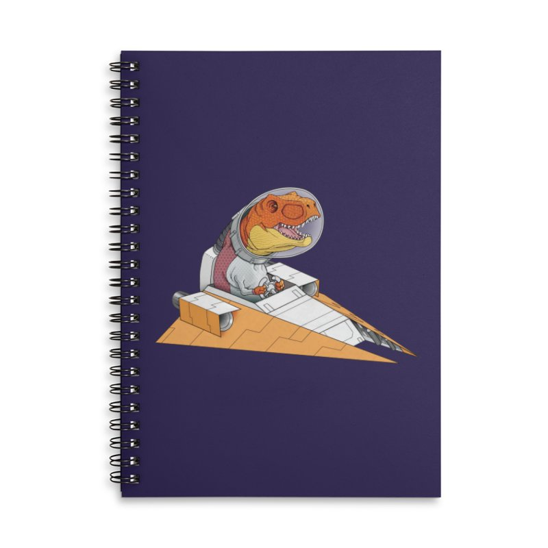 The Triumphant Return Accessories Lined Spiral Notebook by joshbillings's Artist Shop