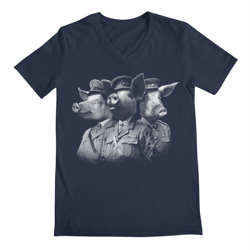 War Pigs Men's Regular V-Neck by joshbillings's Artist Shop
