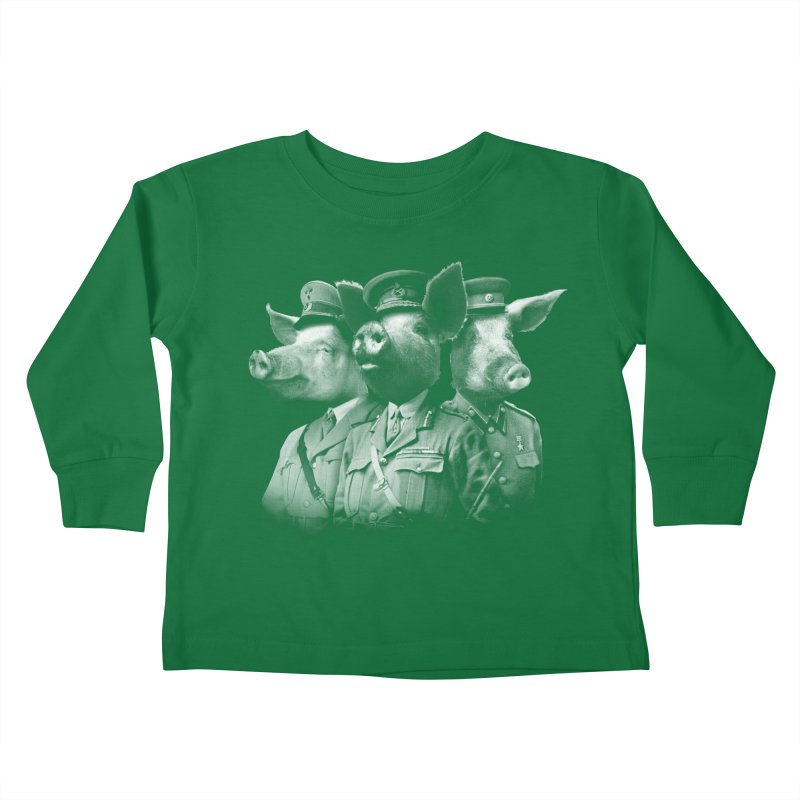War Pigs Kids Toddler Longsleeve T-Shirt by joshbillings's Artist Shop