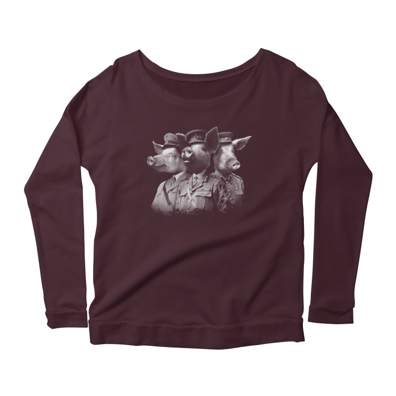 War Pigs Women's Longsleeve Scoopneck  by joshbillings's Artist Shop