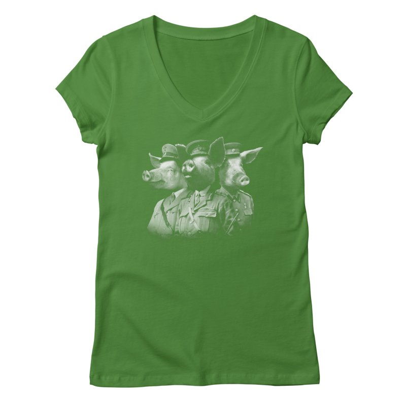War Pigs Women's V-Neck by joshbillings's Artist Shop