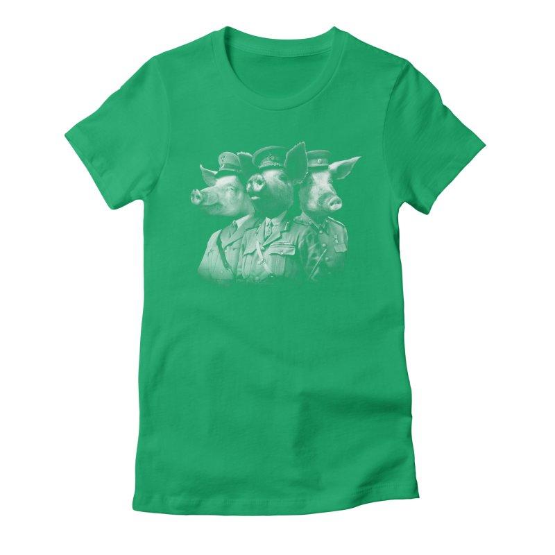 War Pigs Women's Fitted T-Shirt by joshbillings's Artist Shop