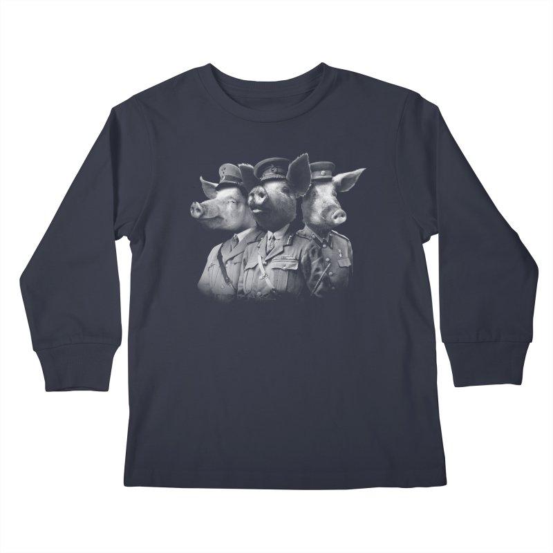 War Pigs Kids Longsleeve T-Shirt by joshbillings's Artist Shop