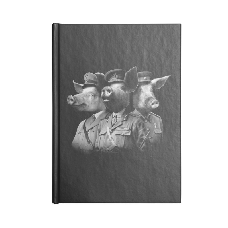 War Pigs Accessories Blank Journal Notebook by joshbillings's Artist Shop